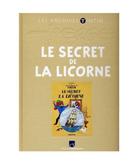 LIVRE ARCHIVE ATLAS - LE SECRET DE LA LICORNE - 2151005