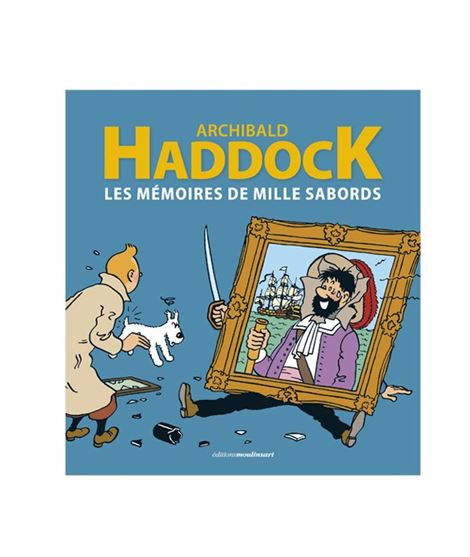 HADDOCK - LES MÉMOIRES DE MILLE SABORDS - 24256-w600-1