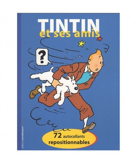 TINTIN ET SES AMIS FRE - herge-editions-moulinsart-72-pegatinas-tintin-et-ses-amis-24377-fr-2018