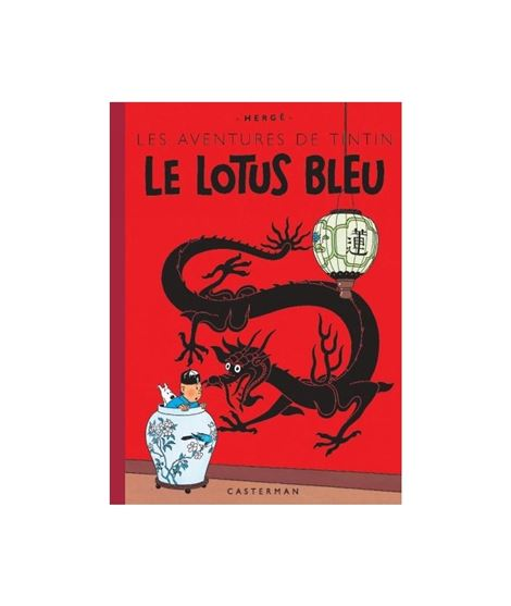 CASTERMAN-FACS.COLOR 04-LE LOTUS BLEU - 1489