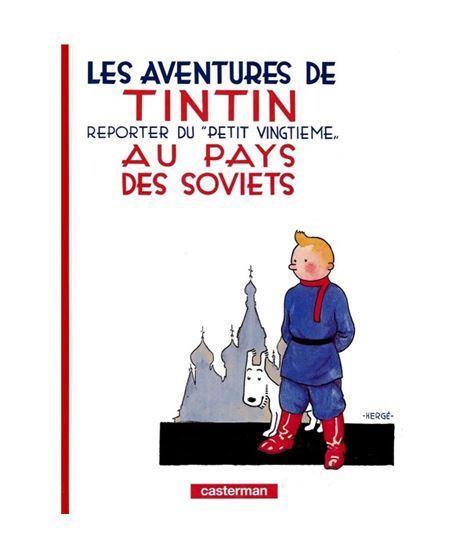 CASTERMAN 01-TINTIN AU PAYS DES SOVIETS - cover_album_c00