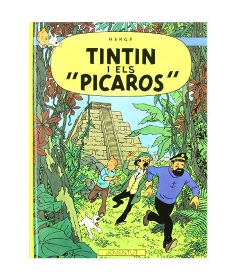 JOVENTUT 23-TINTIN I ELS PICAROS (CARTONÉ) - album-de-tintin-tintin-et-les-picaros-ed-casterman
