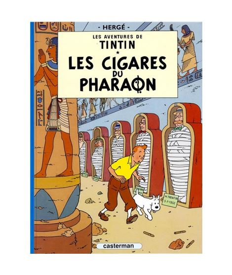 CASTERMAN 04-LES CIGARES DU PHARAON - cover_album_c03