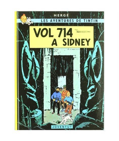 JOVENTUT 22-TINTIN VOL 714 A SIDNEY (CARTONÉ) - album-de-tintin-vol-714-pour-sydney-ed-casterman_1