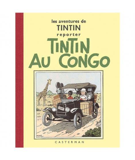 CASTERMAN - FACS. BLANCO Y NEGRO 02 -TINITN AU CONGO - album-de-tintin-tintin-au-congo-edicion-fac-simile-negro-blanco-n2