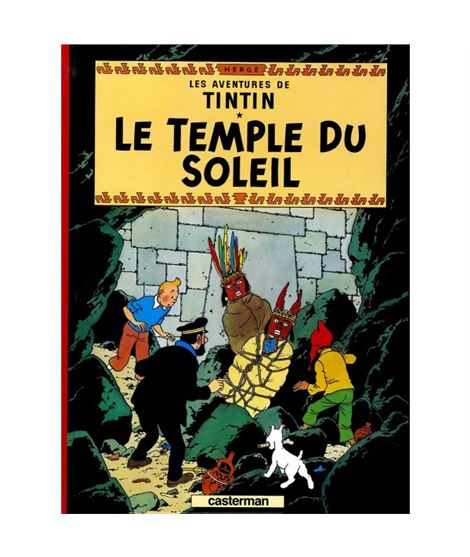 CASTERMAN 14-LE TEMPLE DU SOLEIL - cover_album_c13