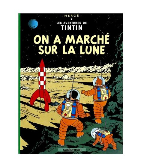 CASTERMAN 17-ON A MARCHE SUR LA LUNE - cover_album_c16
