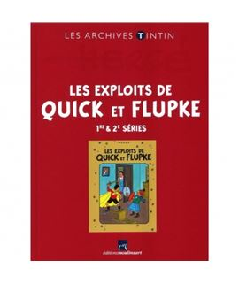 LIVRE ARCHIVE ATLAS - LES EXPLOITS DE QUICK ET FLUPKE SERIES 1,2 - 2544006