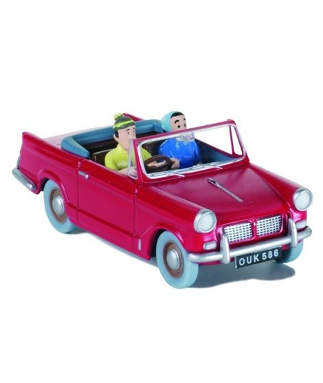 COCHE - TRIUMPH DESCAPOTABLE ROJO #19 - ESCALA 1/43 - 29575_1