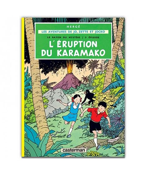 CASTERMAN-JZJ-L´ERUPTION DU KARAMAKO - 9782203311046