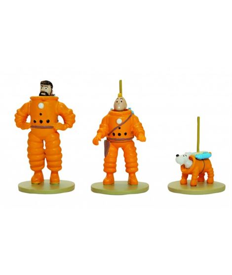3 MINI FIGURAS LUNA-METAL - 29255