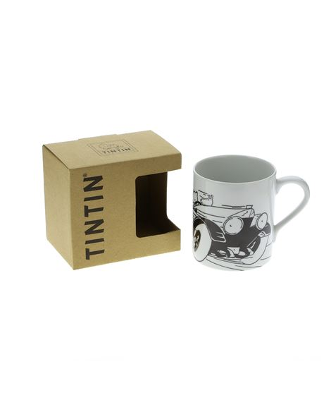 MUG - B/N TINTIN SOVIET SPEED CAR - 479740002