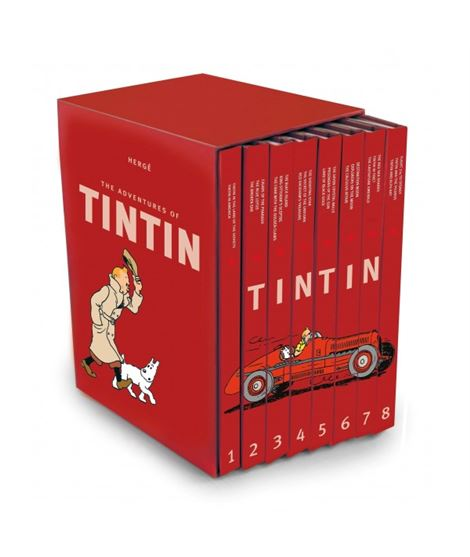 THE TINTIN COLLECTION - 72403a