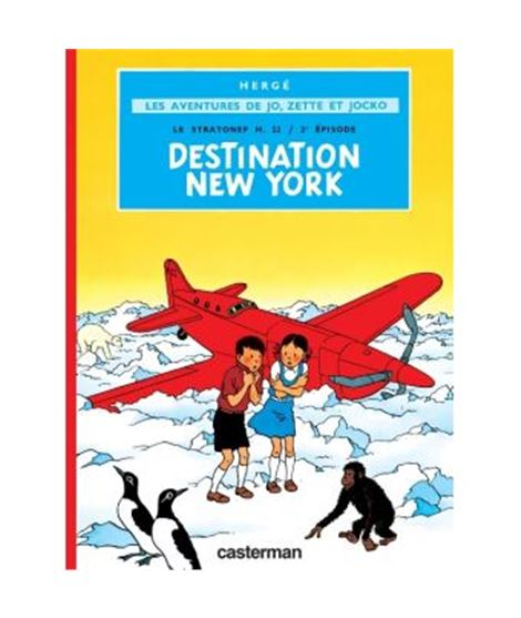 CASTERMAN-JZJ-DESTINATION NEW YORK - Destination-New-York