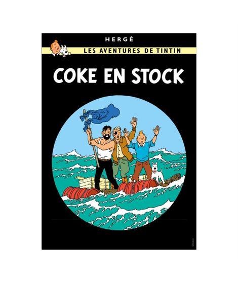 POSTAL DE PORTADA FRANCÉS - COKE - 18._coke_en_stock