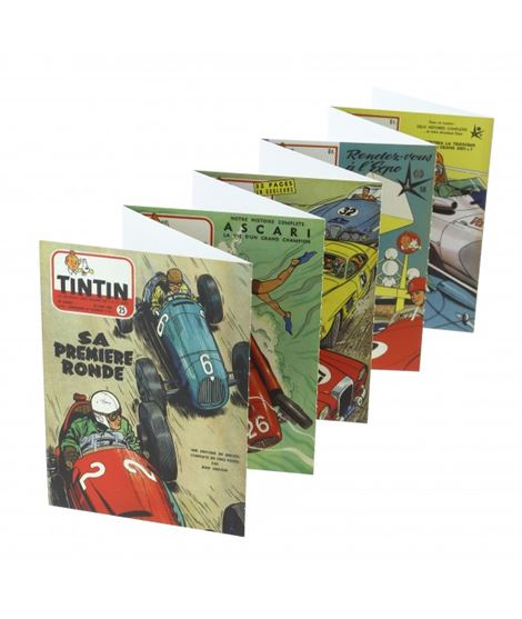 SET 20 CARTES POSTALES J. GRATON & JOURNAL TINTIN - 31307000001