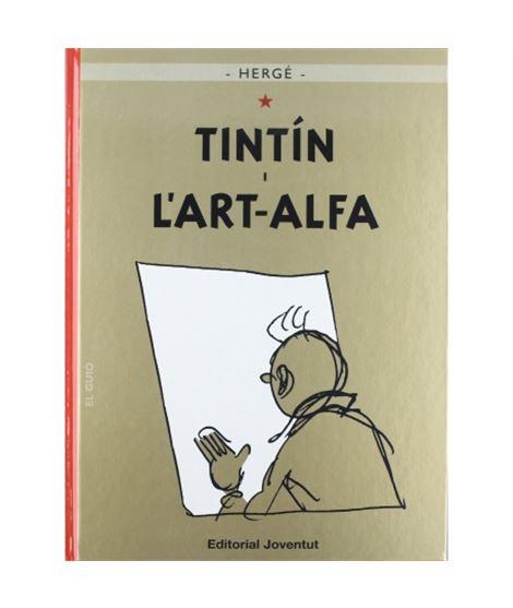 JOVENTUT 24-TINTIN I L´ART ALFA - album-de-tintin-tintin-et-l-alph-art-ed-casterman_1