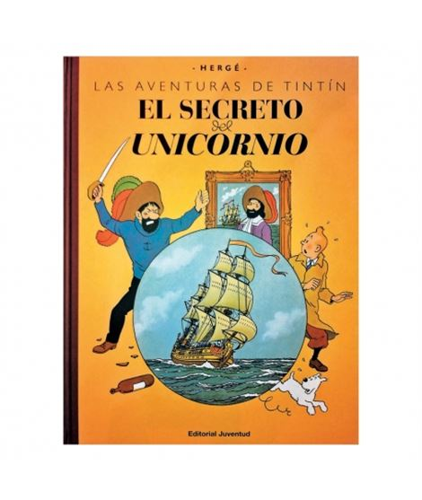 CASTERMAN-GRAN FORMATO FACS.COLOR-LE SECRET - album-de-tintin-el-secreto-del-unicornio-edicion-macro-fac-simile-color