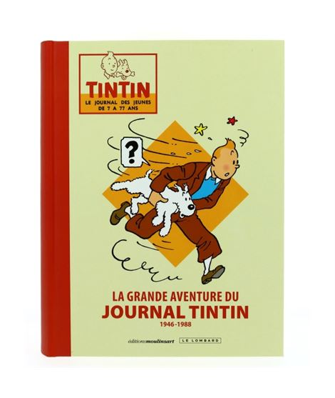 LA GRANDE AVENTURE DU JOURNAL TINTIN - FRANCÉS - 240190000