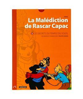 LA MALEDICTION DE RASCAR CAPAC VOL.2 - herge-la-malediction-de-rascar-capac-les-secrets-du-temple-du-soleil-tomo-2