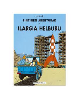 ZEPHYRUM 16 -TINTINEN ILARGIA HELBURU - EUSKERA - las-aventuras-de-tintin-objetivo-la-luna-euskera-1
