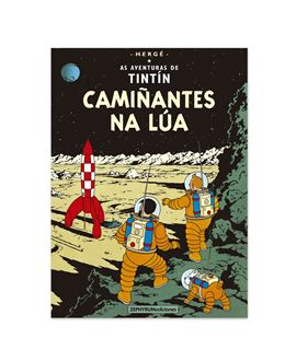 ZEPHYRUM 17 - TINTÍN CAMIÑANTES NA LÚA (GALLEGO) - las-aventuras-de-tintin-aterrizaje-en-la-luna-gallego-1