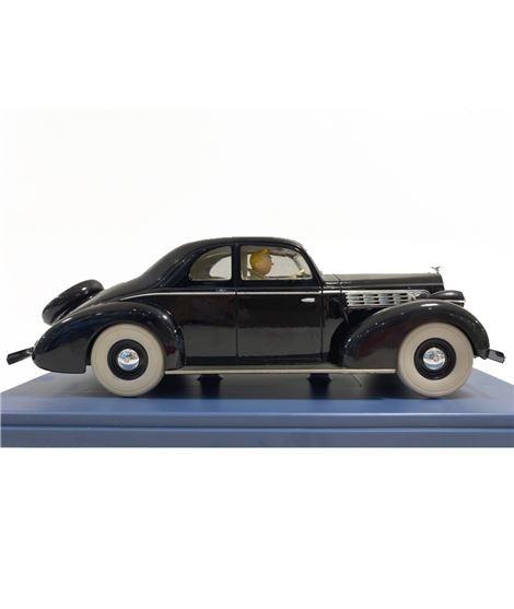 COCHE ESCALA 1/24 - LA PACKARD DU ROI - LE SCEPTRE D´OTTOKAR - 29928-tintin-coche-car-cotxe-voiture-escala-1-24-packard-muskar-X