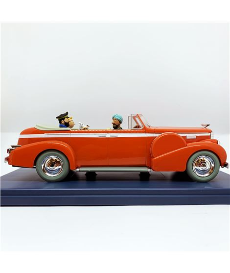 COCHE ESCALA 1/24 - LE TAXI DE NEW DELHI - TINTIN AU TIBET - 2990300000009-tintin-shop-coche-car-escala-124-tibet-taxi-new-delhi
