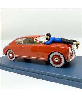 COCHE ESCALA 1/24 - L´AURELIA DE L´ITALIEN - L´AFFAIRE TOURNESOL - 2991400000005-tintin-shop-coche-car-escala-124-haddock-lancia