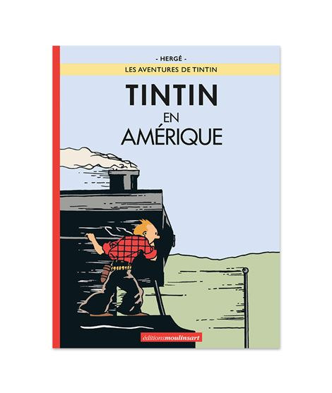 TINTIN EN AMÉRIQUE - LOCOMOTORA (color) - tintin-america-1932-facsimil-coloreado-coloring-1