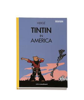 TINTIN IN AMERICA - BOSTEZO (color) - 703105-tintin-in-america-facsimil-1932-coloring-ENG-2