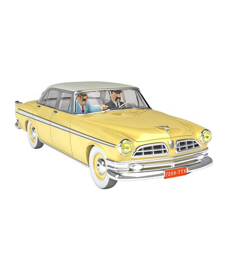 COCHE ESCALA 1/24 - LA CHRYSLER DE L´ENLÈVEMENT - L´AFFAIRE TOURNESOL - 29939