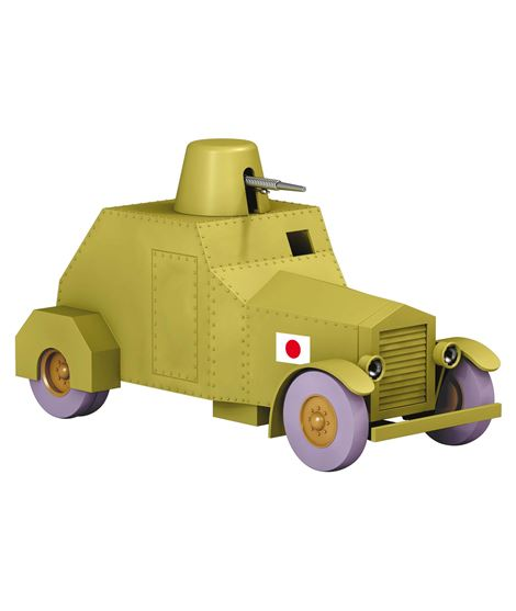 COCHE - ARMOURED CAR - ESCALA 1/24 - 29942_1