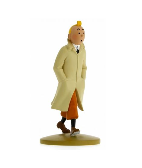 FIGURINE TF1 - TINTIN TRENCH - 29301