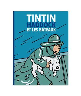 TINTIN, HADDOCK ET LES BATEAUX - FRANCÉS - 24516 (1) et les bateaux