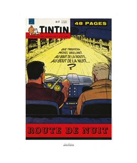 AFFICHE J. GRATON - ROUTE DE NUIT - 1960 Nº 13 - 27175