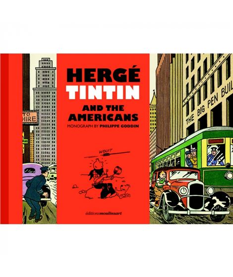 HERGÉ, TINTIN AND THE AMERICANS - 24483