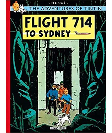 EGMONT 22 - FLIGHT 714 TO SYDNEY (CARTONÉ) - 72103