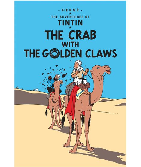 EGMONT 09 - THE CRAB WITH THE GOLDEN CLAWS -INGLÉS (RÚSTICA) - 206204