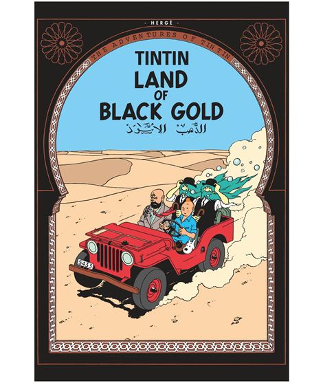EGMONT 15 - TINTIN LAND OF BLACK GOLD - INGLÉS (RÚSTICA) - 206266