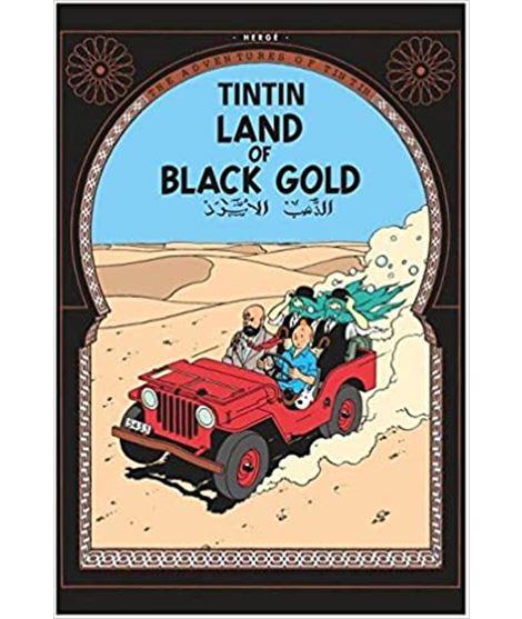 EGMONT 15 - TINTIN LAND OF BLACK GOLD - 71403