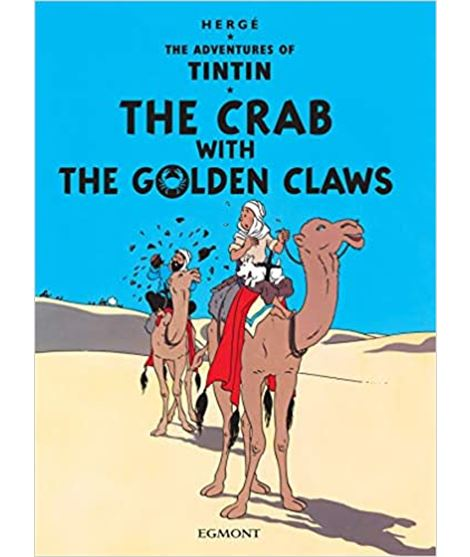 EGMONT 09 - THE CRAB WITH THE GOLDEN CLAWS - 70803