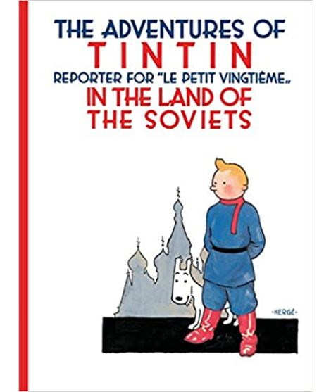 EGMONT 01 - TINTIN IN THE LAND OF THE SOVIETS (CARTONÉ) - 70096