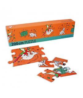 PUZZLE FRISO MILU - puzzle-tintin-milu-y-el-loro-200x15cm-81536-2013