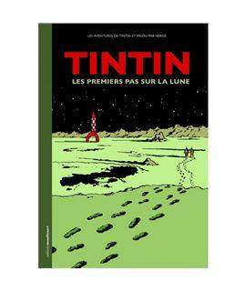 TINTIN LES PREMIERS PAS SUR LA LUNE - tintin lune